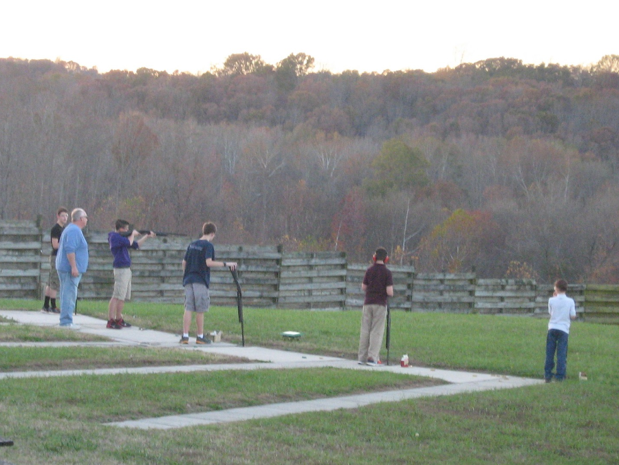 Something is. amateur trap shooting have